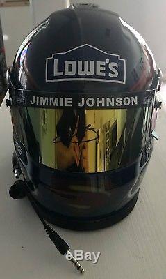 Jimmie Johnson Signed Batman VS. Superman Lowes Full Size Helmet PSA/DNA COA