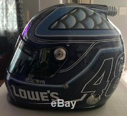Jimmie Johnson Signed Lowes Kobalt Tools Full Size Nascar Helmet PSA/DNA COA