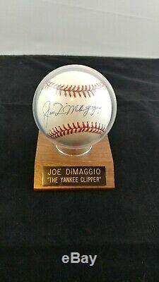 Joe DiMaggio Signed OAL Baseball With A Full JSA Letter COA will pass PSA/DNA