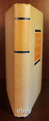 John Steinbeck SIGNED First 1st Edition Of Mice and Men 1937 Rare COA PSA DNA