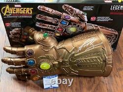 Josh Brolin Signed Thanos Gauntlet Beckett COA H45755 BAS PSA/DNA Marvel