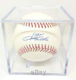Juan Soto Autographed Signed ROMLB Baseball PSA/DNA COA + Case Nationals Clean