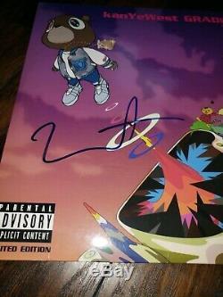 KANYE WEST SIGNED AUTOGRAPHED GRADUATION ALBUM VINYL LP with COA PSA/DNA PROOF