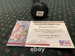 KEN GRIFFEY JR Louisville Slugger C271 Autographed Baseball Bat PSA/DNA COA HOF