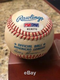 KEN GRIFFEY JR. Signed Baseball Autograph AUTO PSA / DNA COA Mariners HOF