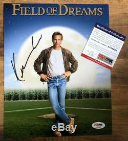 KEVIN COSTNER AUTOGRAPHED SIGNED 8x10 FIELD OF DREAMS PHOTO PSA/DNA AUTH COA
