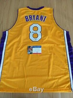 KOBE BRYANT LA Lakers Signed / Autograph Jersey with PSA/DNA COA NBA