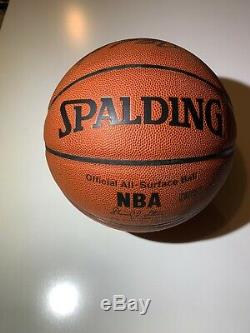 KOBE BRYANT signed autographed basketball Spalding PSA DNA 1A61819 COA