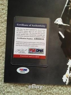 Kanye West signed auto autograph 16x20 photo PSA/DNA COA RARE YEEZY