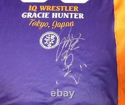 Kazushi Sakuraba Signed Official Rashguard Shirt PSA/DNA COA Pride FC UFC Dream