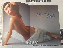 Kelly LeBrock Signed March 1986 Playboy Magazine PSA/DNA COA Weird Science Auto