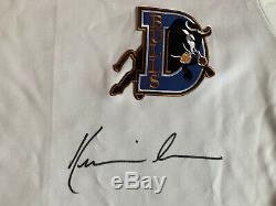 Kevin Costner Durham Bulls Signed Autographed Jersey Psa/dna Coa