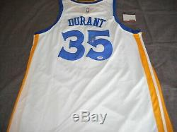 Kevin Durant signed authentic autographed jersey NBA Warriors PSA/DNA coa