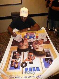 Kid'n Play Signed House Party 27x40 Poster PSA/DNA COA Christopher Reid Martin