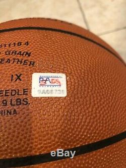 Kobe Bryant Autographed Basketball PSA/DNA COA ITP