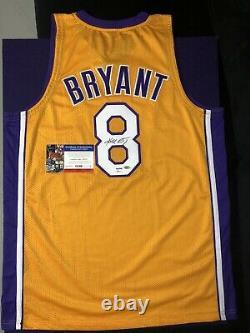 Kobe Bryant Autographed Jersey PSA DNA COA