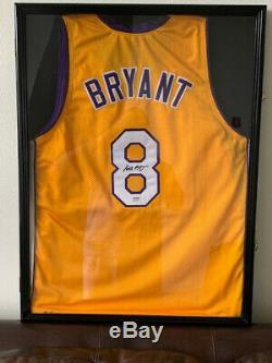 Kobe Bryant Autographed Jersey PSA/DNA COA Full name Vintage 2001