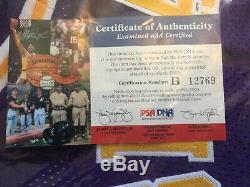 Kobe Bryant Autographed Jersey with PSA DNA COA Authentic Autograph Lakers