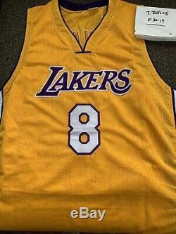 Kobe Bryant Autographed Lakers Jersey PSA/DNA COA