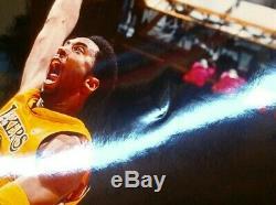 Kobe Bryant Autographed Los Angeles Lakers 16x20 Photo PSA/DNA COA (#8 Jersey)