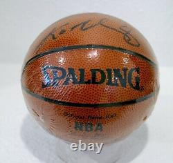 Kobe Bryant Autographed Mini Spalding Basketball Ball'00 3-peat Era PSA/DNA COA