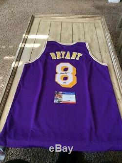 Kobe Bryant Autographed/Signed Jersey PSA/DNA COA Los Angeles Lakers LA