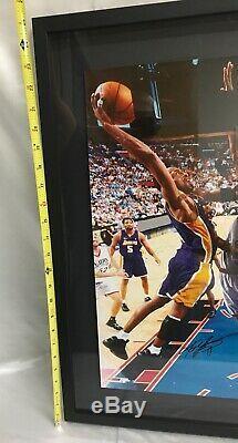Kobe Bryant Framed 16x20 Photo Psa Dna Coa Authenticated Los Angeles Lakers