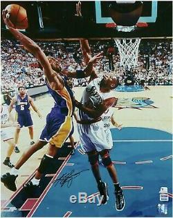 Kobe Bryant Signed 16x20 Photo Autographed AUTHENTIC PSA/DNA COA LA Lakers