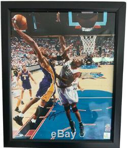 Kobe Bryant Signed 16x20 Photo Autographed AUTO PSA/DNA COA Los Angeles Lakers