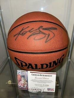 Kobe Bryant Signed Autographed Basketball PSA/DNA With COA