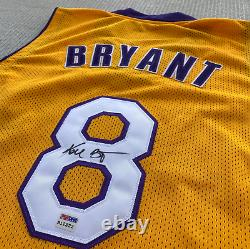 Kobe Bryant Signed Autographed Early Career Rookie LA Lakers Jersey PSA/DNA COA
