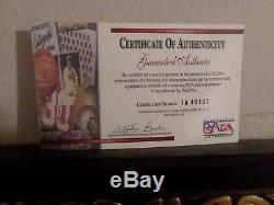 Kobe Bryant Signed Official NBA GAME Basketball Full MINT Autograph PSA DNA COA