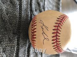Kobe Bryant Single Signed Official Major League Baseball With PSA DNA COA