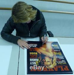 Kristy Swanson Signed Playboy 16x20 Photo PSA/DNA COA 2002 Magazine Cover Poster