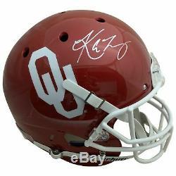Kyler Murray Autographed Oklahoma Sooners Heisman Full Size Helmet PSA DNA COA