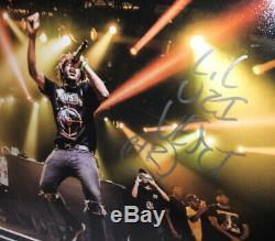 LIL Uzi Vert Signed Luv Is Rage 2 CD Album Display Autograph Rapper Psa Dna Coa
