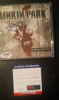 Linkin Park Chester Bennington Signed Hybrid Theory CD PSA/DNA AUTHENTIC COA