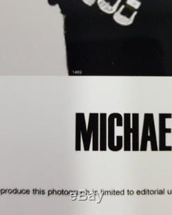MICHAEL JACKSON ORIGINAL SIGNED COA PSA DNA AUTOGRAPH PROMO LP MJJ smile fedora