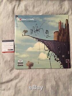 Machine Gun Kelly MGK Signed Autographed Vinyl Rare PSA/DNA COA