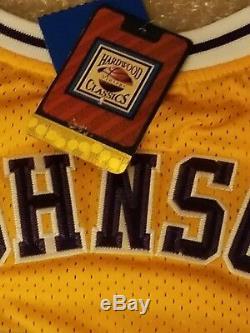 Magic Johnson Signed Authentic Adidas LA Lakers Jersey PSA/DNA ITP COA