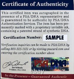 Magic Johnson Signed Purple Jersey with Showtime Inscription Auto PSA DNA COA
