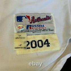 Manny Ramirez Signed 2004 Boston Red Sox Game Used Jersey With PSA DNA COA