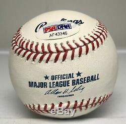 Mariano Rivera HOF 2019 Signed Baseball Autographed AUTO PSA/DNA COA Yankees