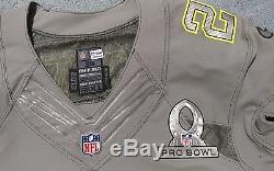 Matt Forte Authentic Game Issued not worn Probowl 2014 jersey PSA/DNA coa