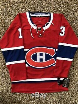 Max Domi Signed Montreal Canadiens Jersey PSA/DNA COA #13 NHL Star Coyotes RARE