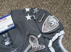 Mecole Hardman Game Issued Pro BowlJersey Kansas City Chiefs PSA/DNA COA