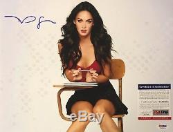 Megan Fox Signed 11x14 Photo Autograph AUTO PSA/DNA ITP COA