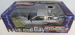 Michael J. Fox Signed Back To The Future Delorean Time Machine Car PSA/DNA COA