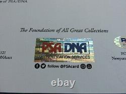 Michael Jackson, Autograph, Coa Psa/dna, Thriller Era, Original 8x10 Photo