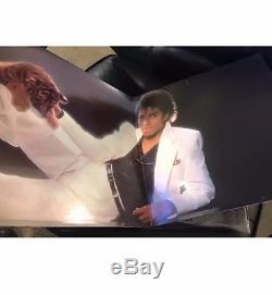 Michael Jackson Signed Autographed Thriller Album PSA DNA COA! Mint Condition